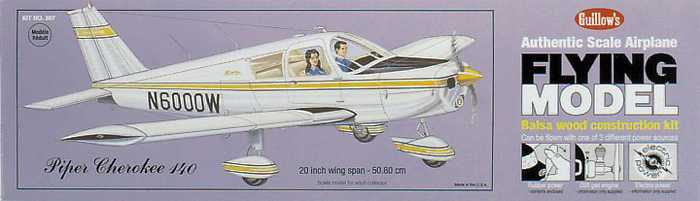 Guillow's 307 Piper Cherokee 140