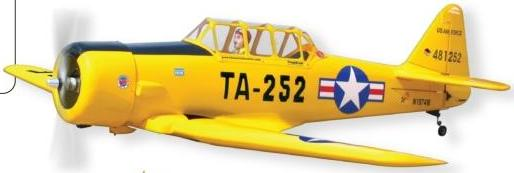 World Models AT-6 Texan (1/7 Scale) 91 ARTF