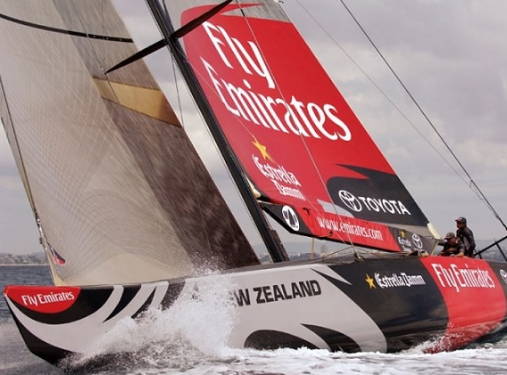 Thunder Tiger 1M ETNZ RACING YACHT