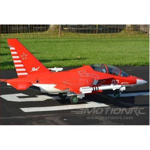 Freewing Yak-130 Super 90mm Red PNP